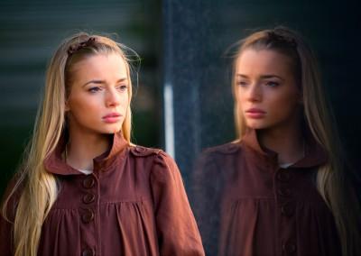 Girl-Reflection